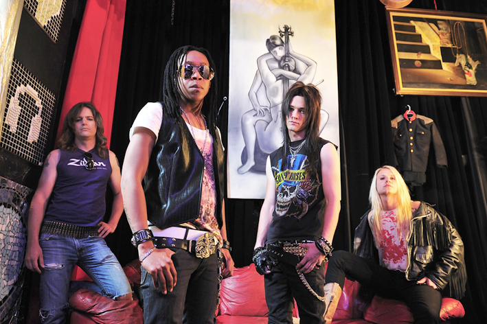 4Q Rockband - Glam Rock From South Africa