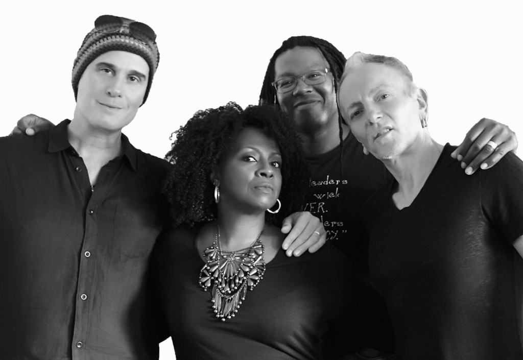 I.M.P Music PR artists DELTA DEEP ft Phil Collens of Def Leppard, Rob DeLeo of STP, Forrest Robinson and Debbi Blackwell-Cook