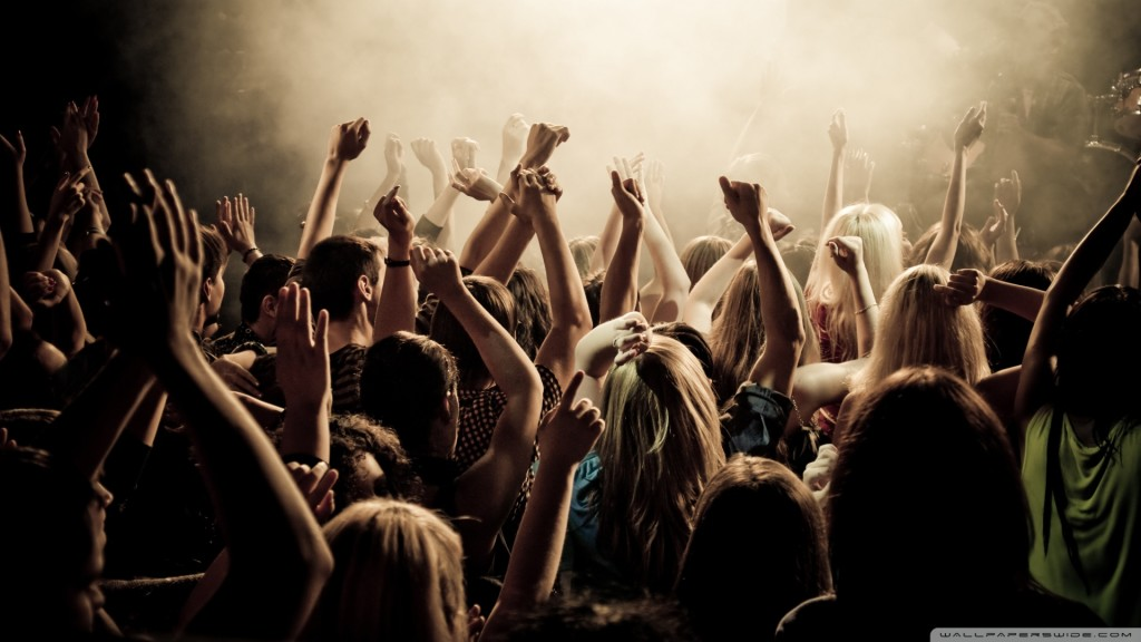Concertgoers on the Independent Music Promotions Blog