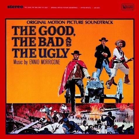 Ennion Morricone The Good The Bad and The Ugly Album Cover on the Independent Music Promotions Blog