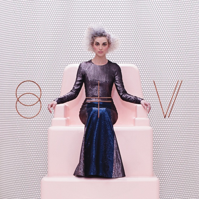 St. Vincent self titled album cover on the Independent Music Promotions Blog