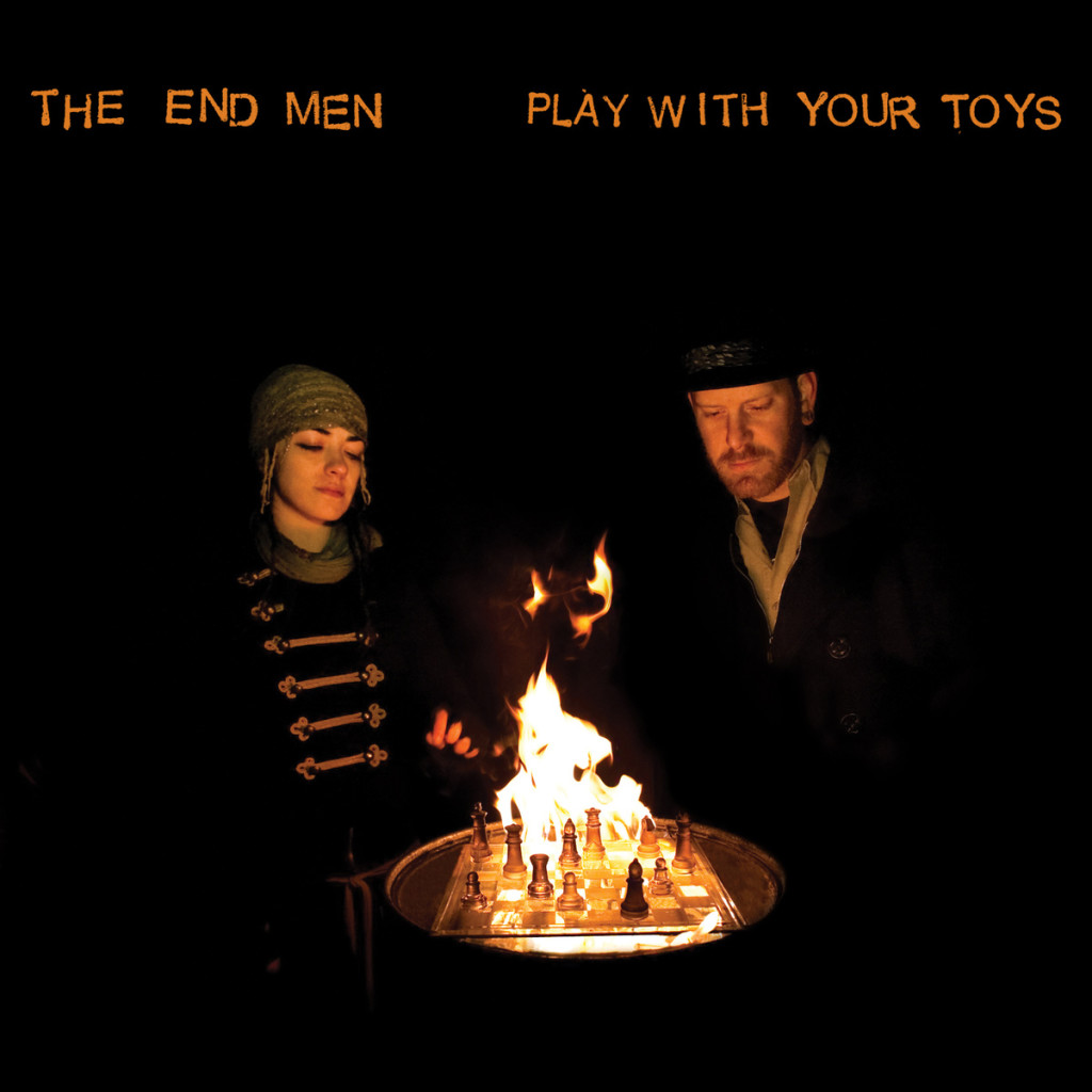 The End Men Play With Your Toys Album Cover on the Independent Music Promotions Blog