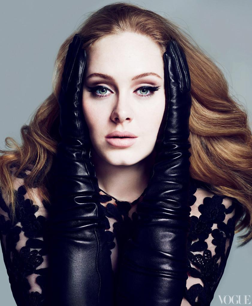 International Superstar Adele has an interesting pre show superstition