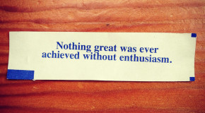 On Enthusiasm