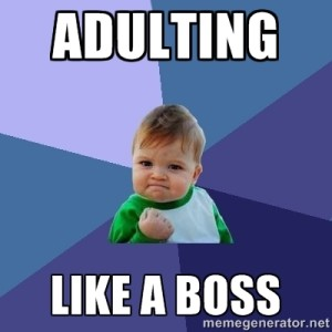 Adulting in the Industry