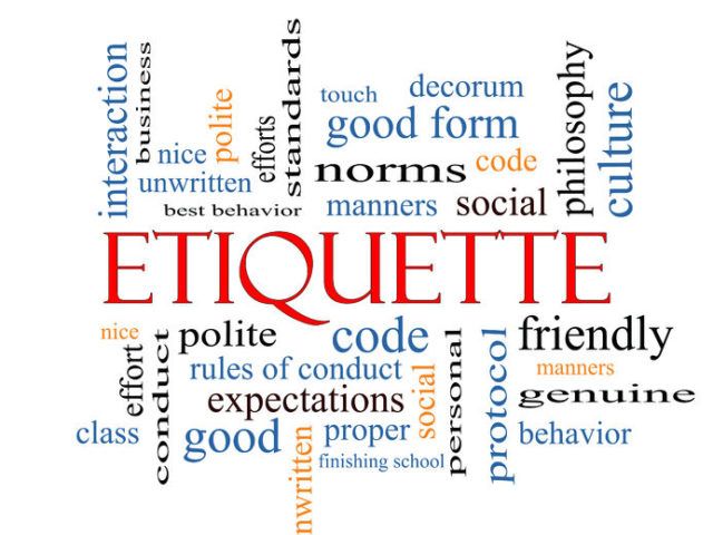 Etiquette On The Road