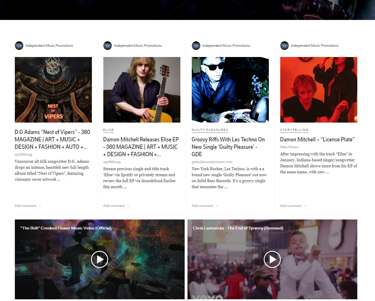 INDEPENDENT MUSIC NEWS cover image