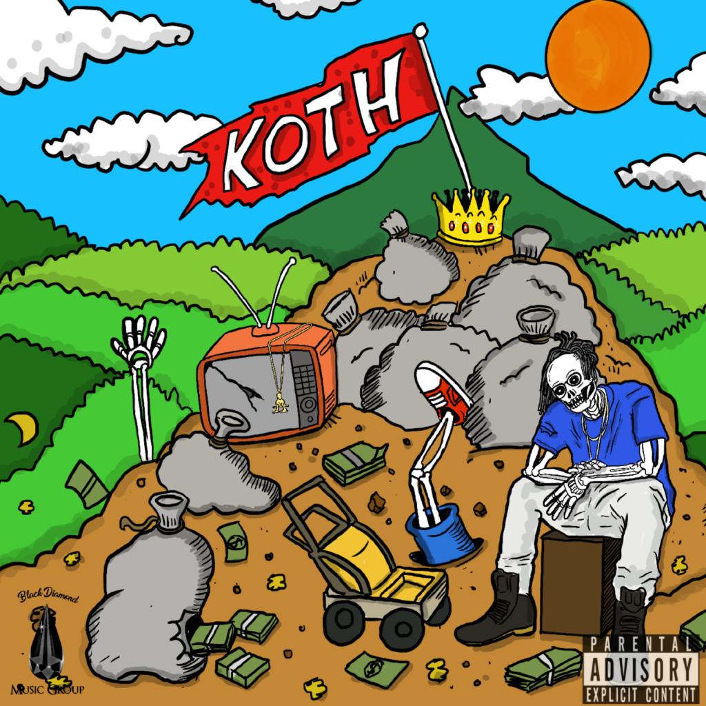 J'Moris 'KOTH' EP cover art