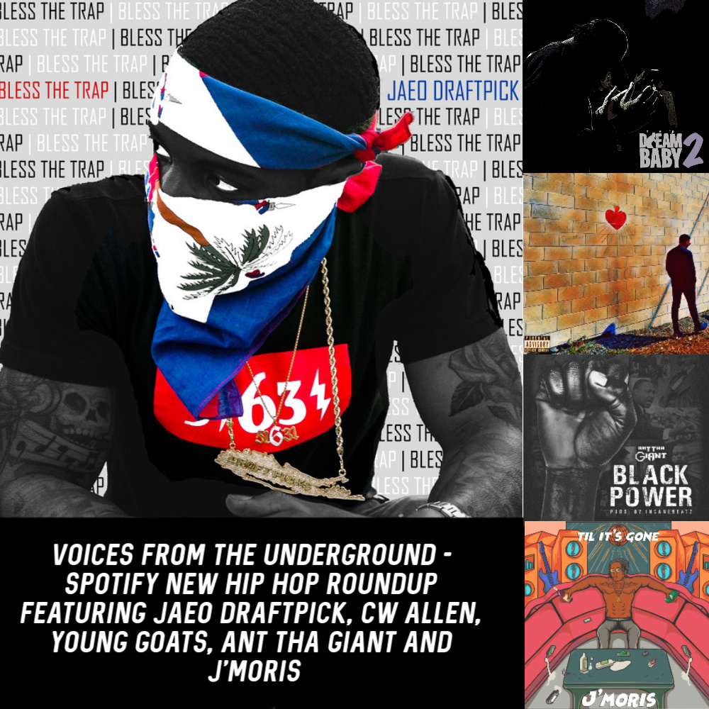 Voices from the Underground - Spotify New Hip Hop Roundup