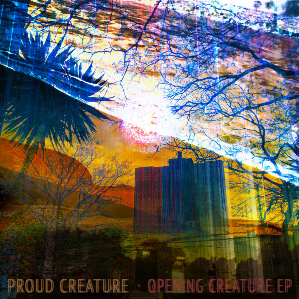 Proud Creature's Opening Creature EP Cover