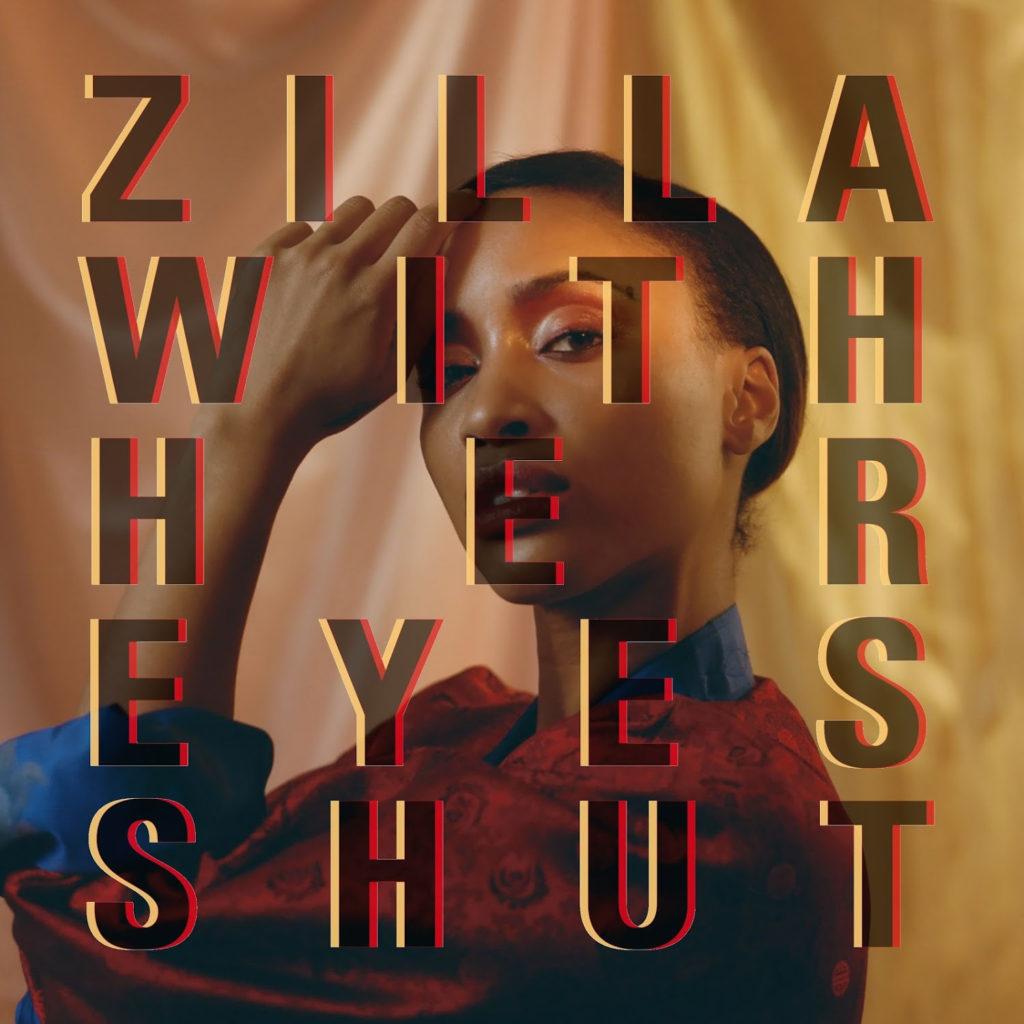 Zilla With Her Eyes Shut - Whisper Whisper single art