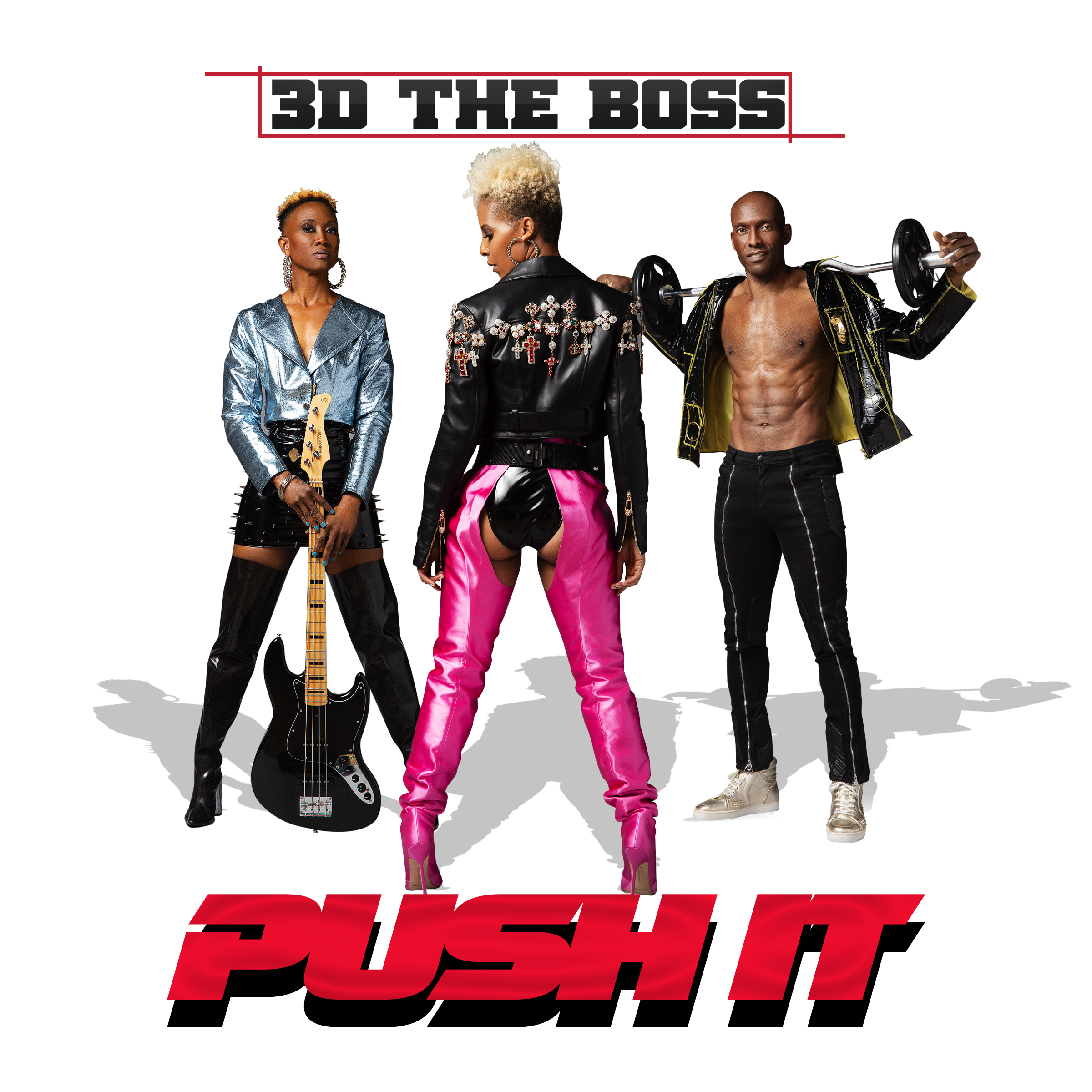 Health and fitness pop group 3D the Boss